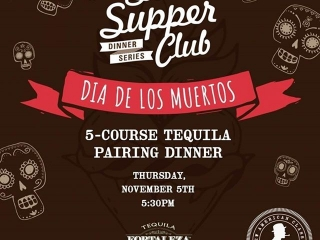 Dia de los muertos 5 course tequila pairing dinner