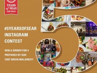 Celebrating 5 years of Sear San Diego
