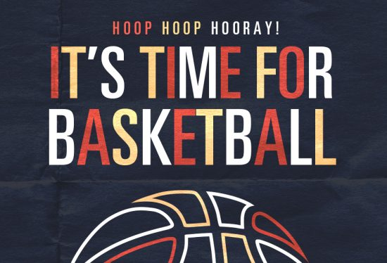 March Madness Hoop Hoop Hooray! It's Time For Basketball