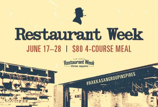 Searsucker Las Vegas Restaurant Week 2019