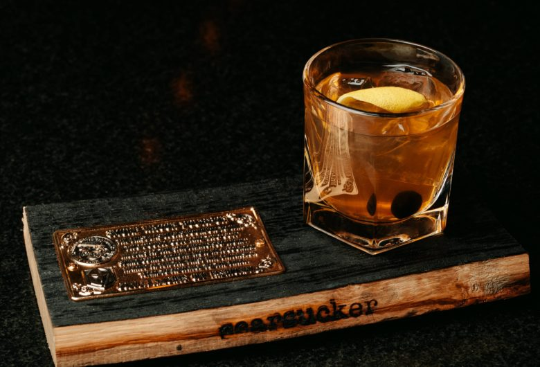 Supporting the Golden Knights Foundations with The Vegas Golden Knights Old Fashioned available at Searsucker Las Vegas