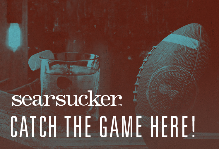 Catch the games here at Searsucker