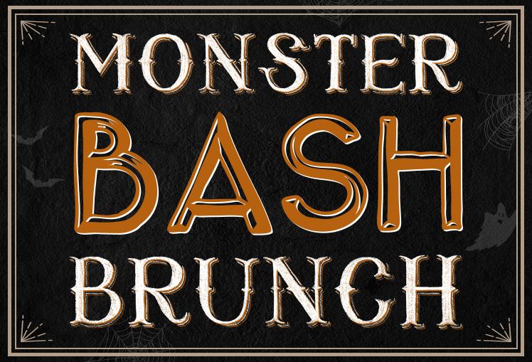 Monster Bash Halloween Brunch at Searsucker San Diego