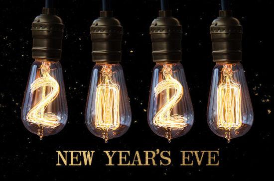 New Year's Eve 2020 light bulbs Searsucker Las Vegas